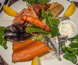 Scottish seafood