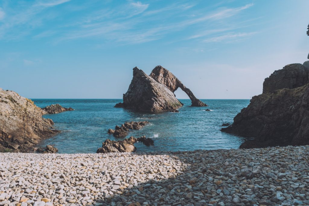 Bow Fiddle Rock, Moray Coast